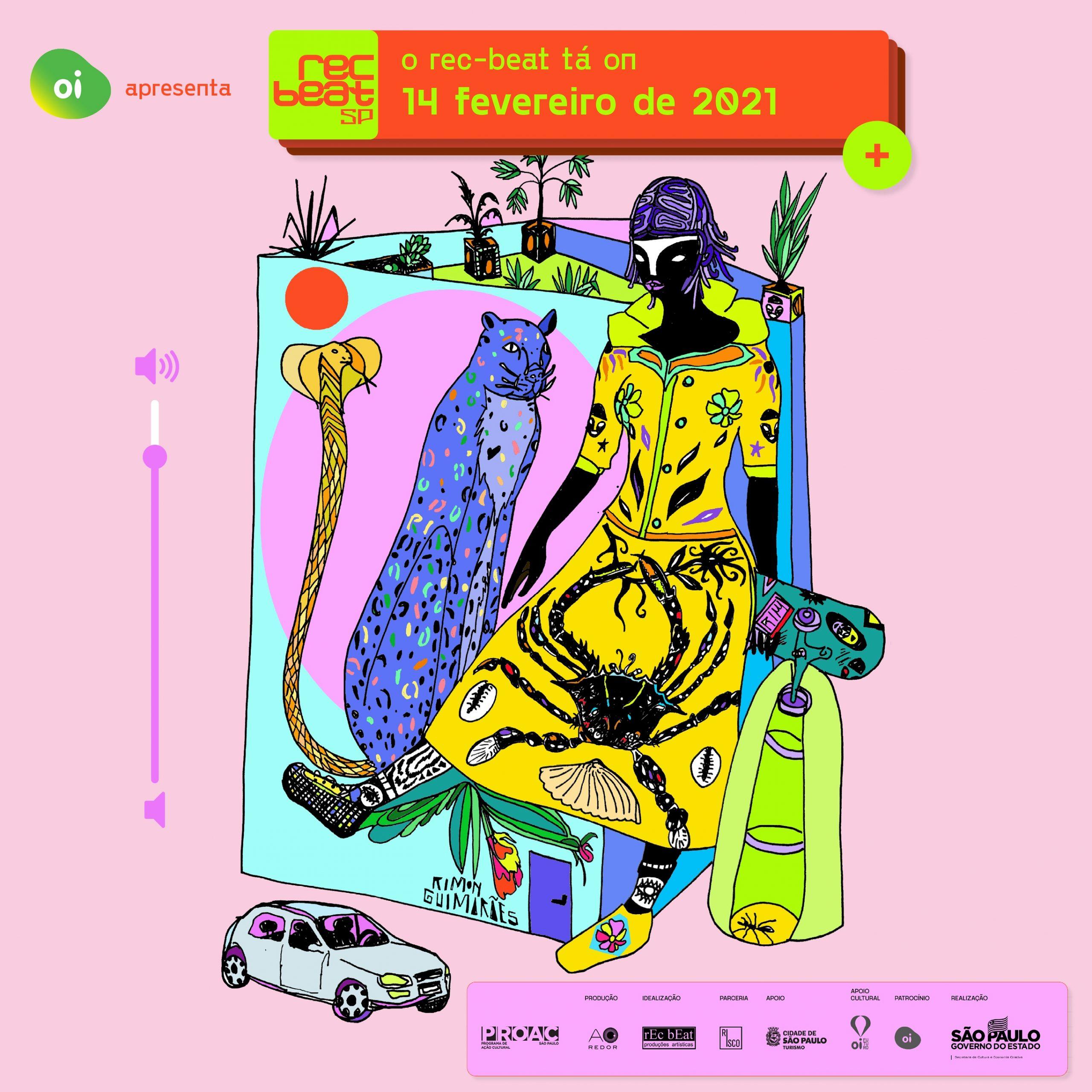 Rec-Beat realiza edição virtual em pleno Carnaval